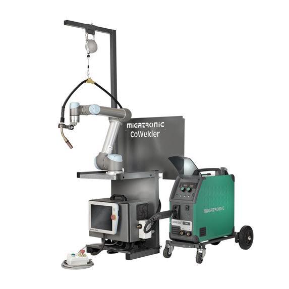 CoWelder Migatronic - robotické svařování